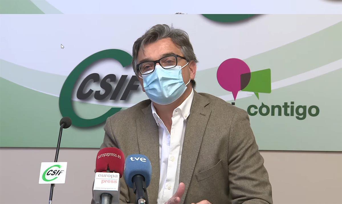 Miguel Ángel González, médico del Virgen de la Salud que también ha sido víctima de agresiones sanitarias