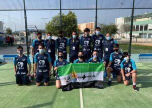 El equipo extremeño con el que Noemí Aguilar se proclamó subcampeona de España