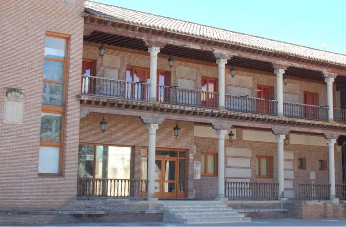 Ayuntamiento de Yunquera de Henares, donde un hombre atropelló a siete personas