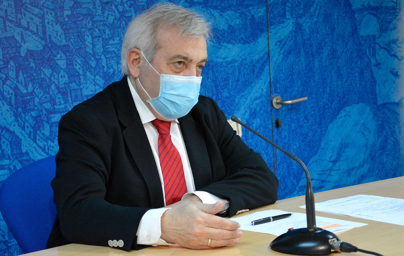 Juanjo Pérez del Pino ha detallado los incidentes del fin de semana. interior de la hostelería