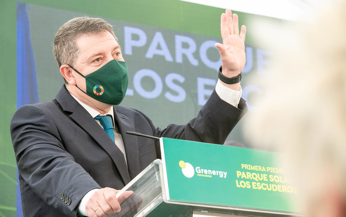 Emiliano García-Page ha anunciado ayudas a pymes y autónomos