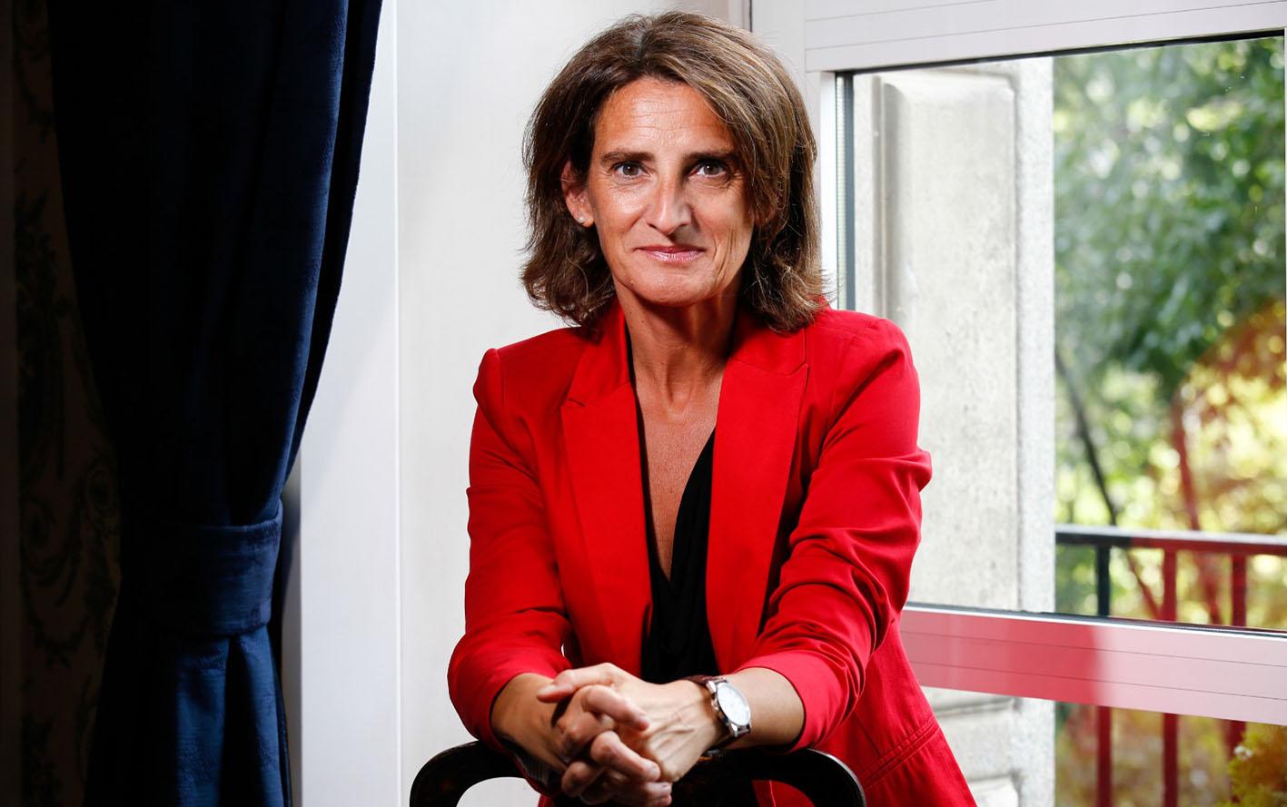 Teresa Ribera, ministra para la Transición Ecológica y el Reto Demográfico, da las pautas para acabar con el trasvase Tajo-Segura tal y como lo conocemos ahora mismo.