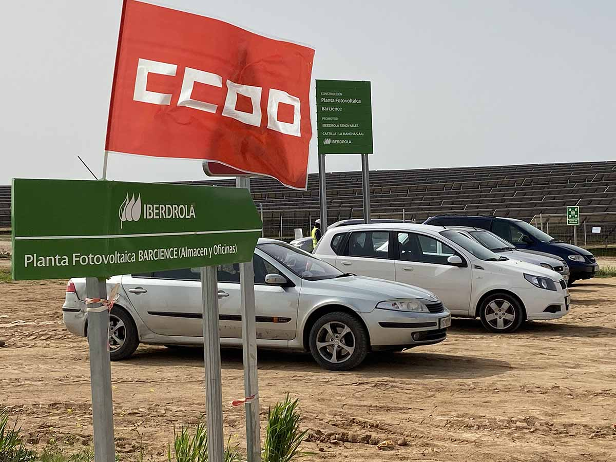 CCOO denuncia impagos a 100 familias por impagos de una subcontrata por un trabajo en Bargas (Toledo)