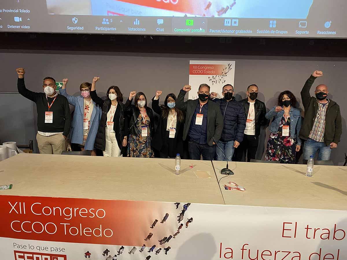 XII Congreso provincial de CCOO Toledo