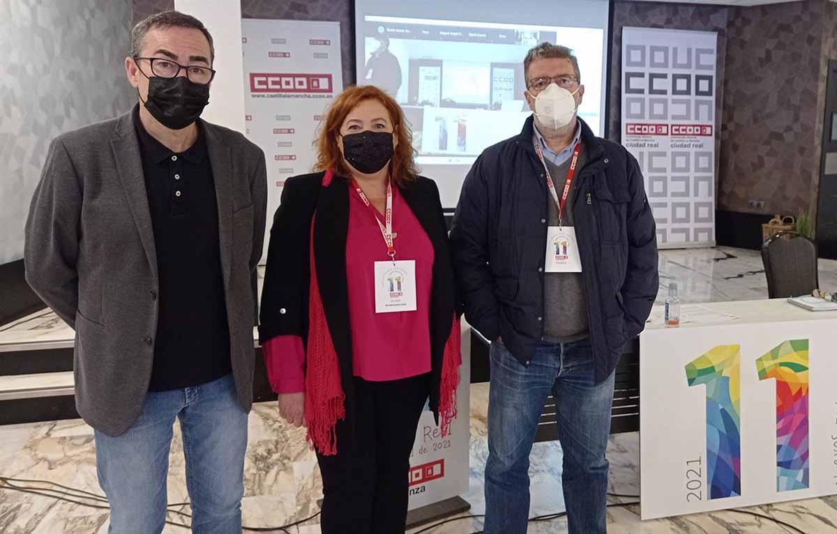 Ana Delgado recibió el amplio respaldo del Congreso Regional de CCOO