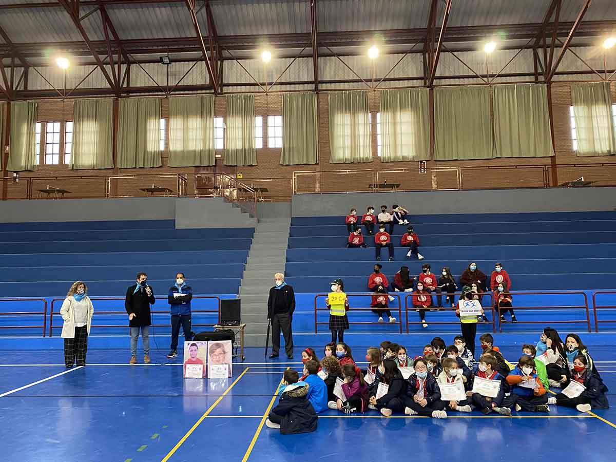 """Presentación de la carrera """"Pablo y Beltrán"""" en el colegio Infantes de Toledo"""