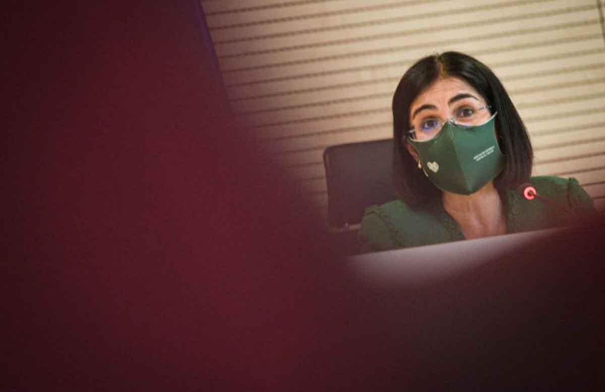 La ministra de Sanidad, Carolina Darias. Foto: EP