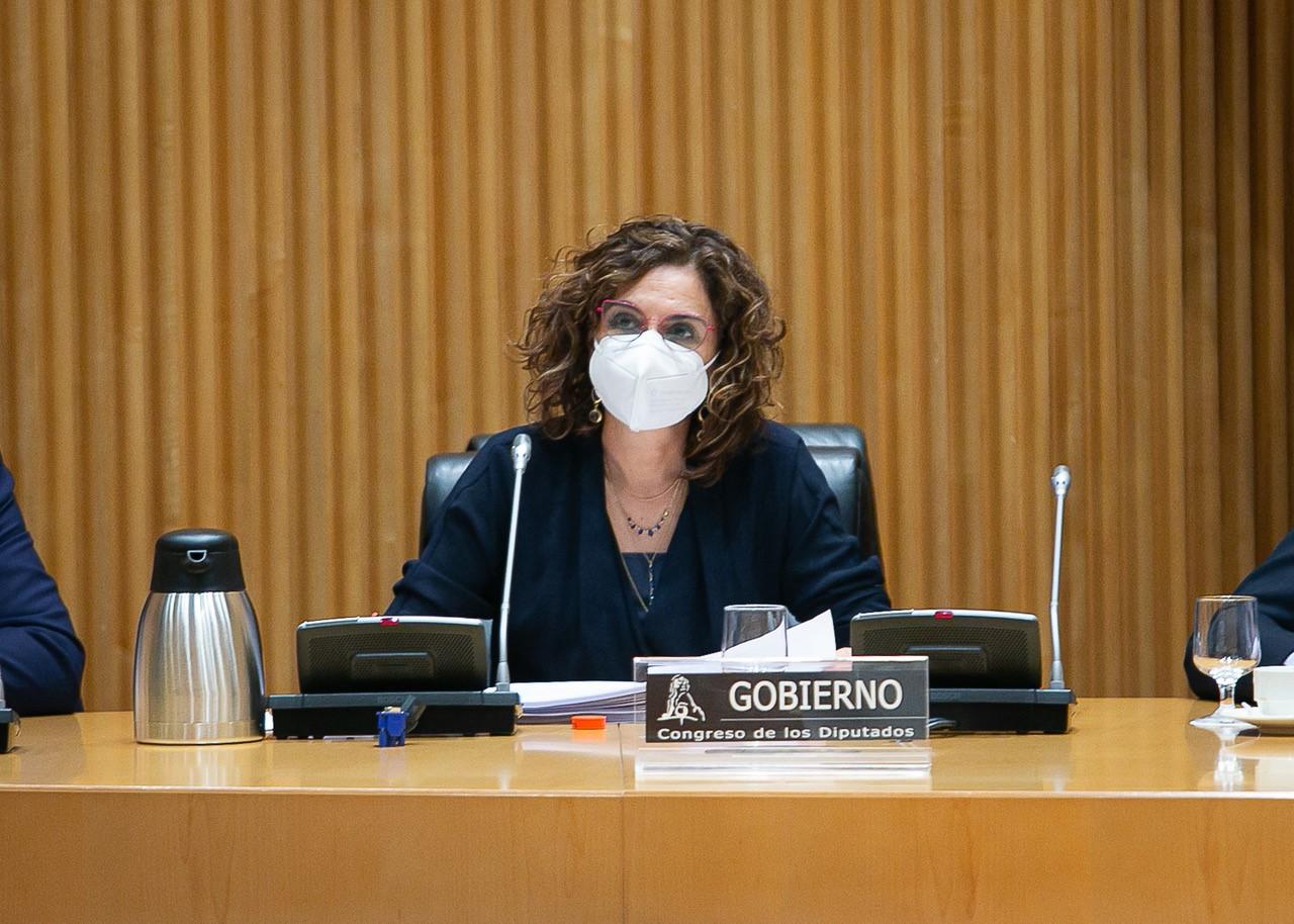 La portavoz del Gobierno y ministra de Sanidad, María Jesús Montero.