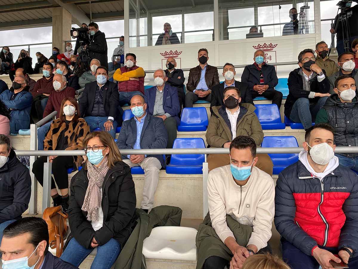 Aumentan los aforos en los recintos deportivos de CLM