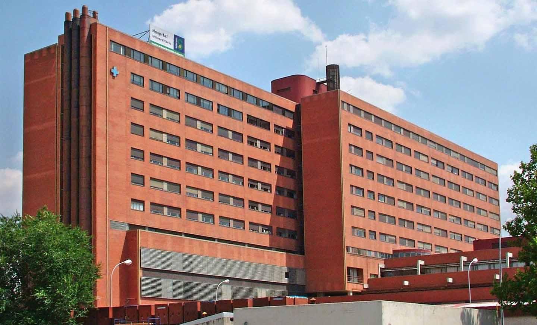 Hospital Guadalajara a donde han sido trasladados los intoxicados en Peñalver