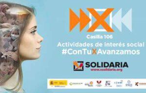 """Imagen de la campaña """"X Solidaria"""""""
