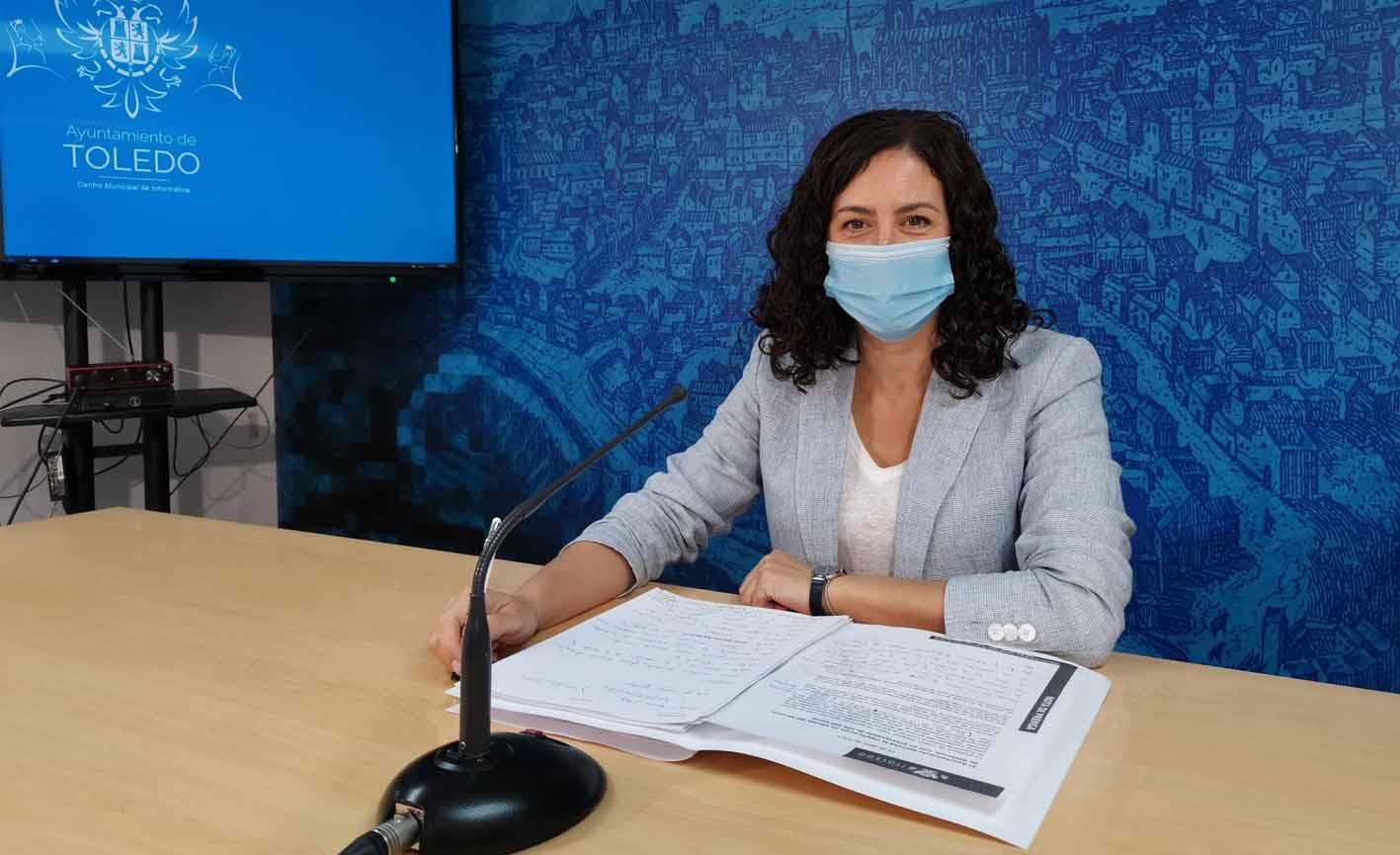 Noelia de la Cruz ha informadode las nuevas terrazas que se han autorizado en Toledo