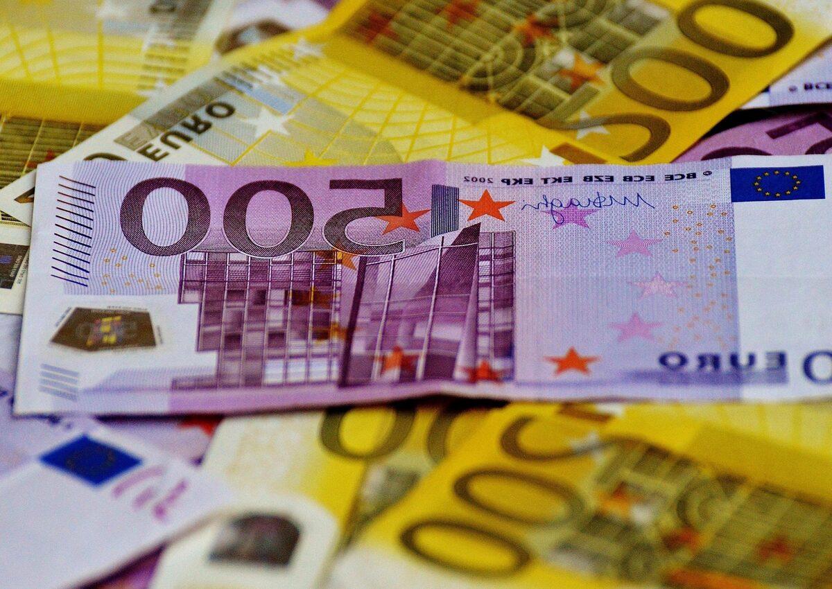 Dinero, billetes, euros,