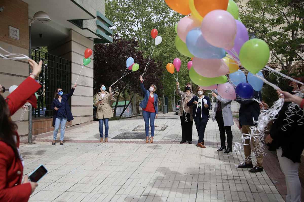 Milagros Tolón, en los actos del Día Mundial del Párkinson en Toledo
