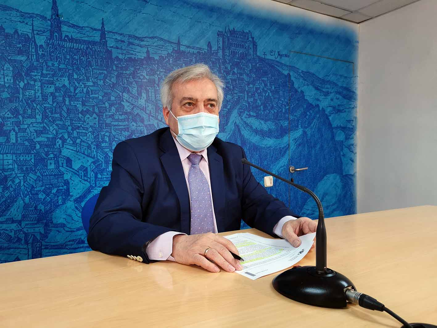 Pérez del Pino habla de las multas y sanciones durante el fin de semana en Toledo
