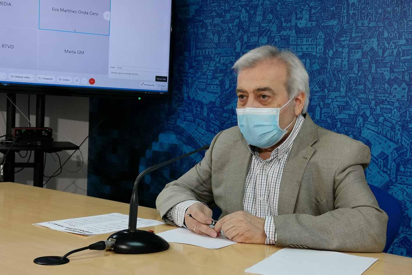 Pérez del Pino ha informado de las denuncias del fin de semana en Toledo, como la de los jóvenes en el Valle