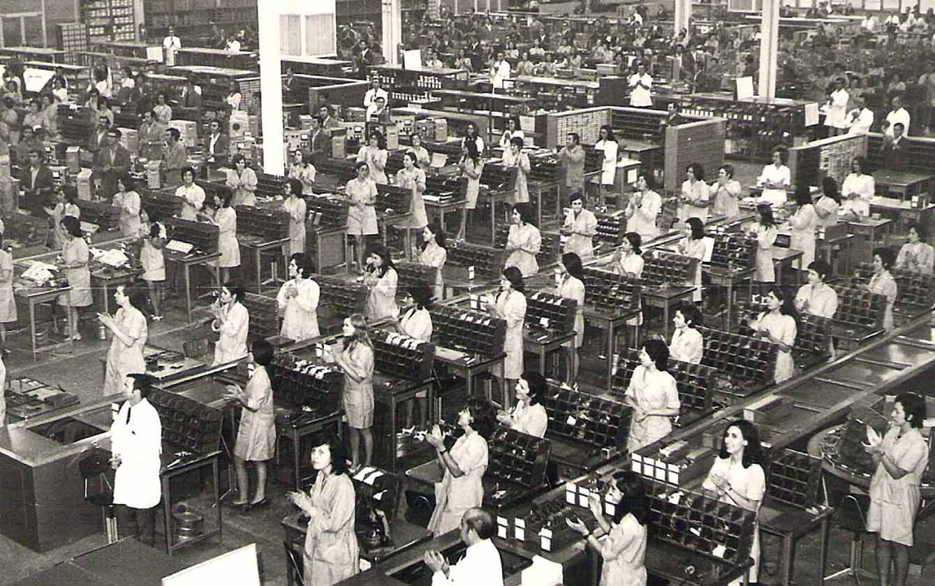 Imagen de la fábrica Standar, en el Polígono de Toledo