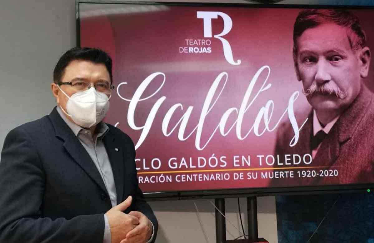 El concejal Teo García presentó las últimas actividades del Año Galdosiano en Toledo