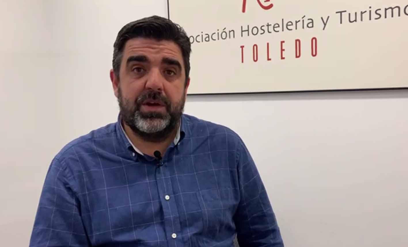 Tomás Palencia, presidente de los hosteleros de Toledo.