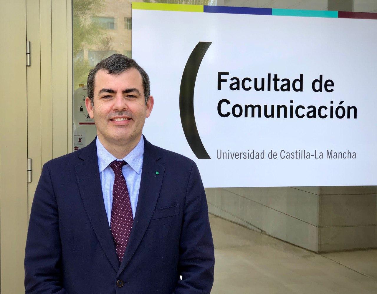 José María Herranz de la Casa, el nuevo decano de la Facultad de Comunicación de la UCLM.