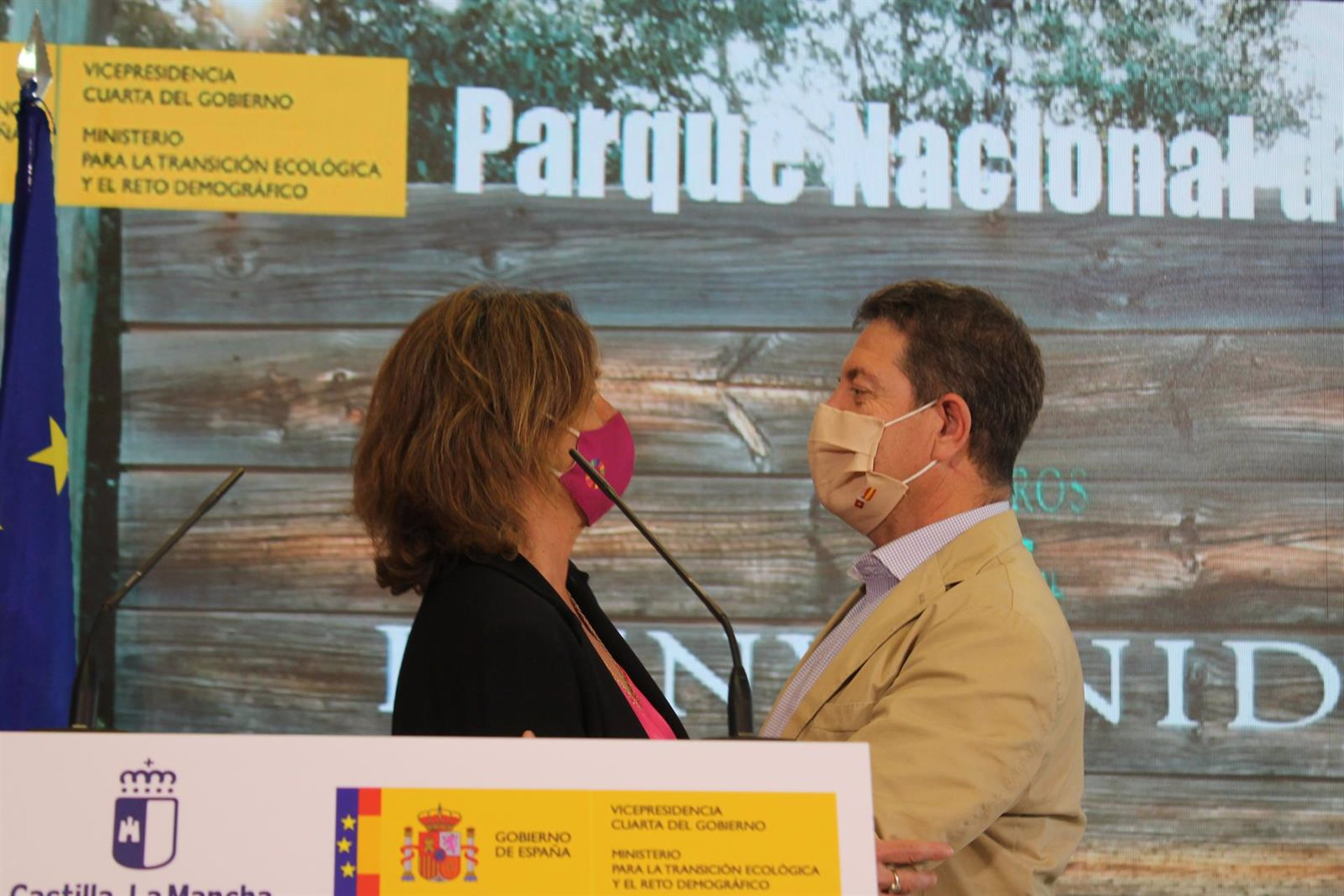 Page y Ribera avanzan en transferir la gestión de Tablas de Daimiel y Cabañeros a CLM