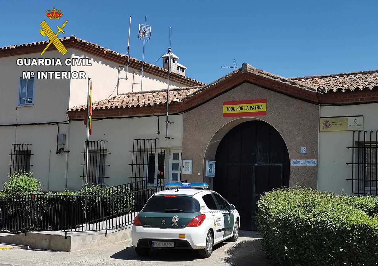 La Guardia Civil resolvió casi de inmediato la agresión y el robo a la trabajadora de la pizzería.