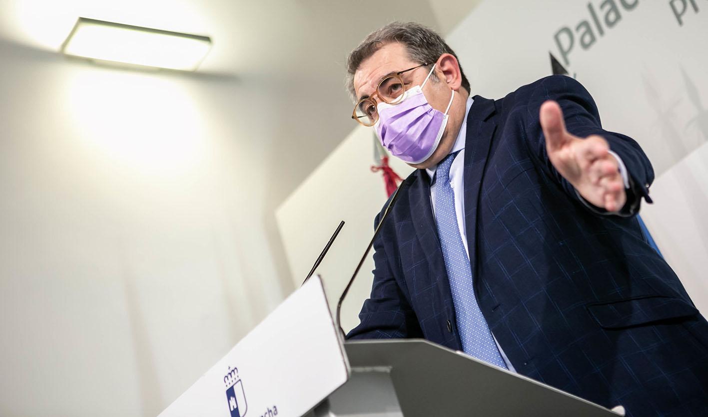 Jesús Fernández Sanz, consejero de Sanidad, ha anunciado que el cierre perimetral no se podrá mantener en CLM si no se prorroga el estado de alarma.