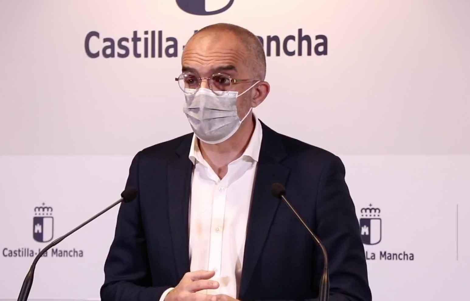 El director de Salud Pública de Castilla-La Mancha, Juan José Camacho.