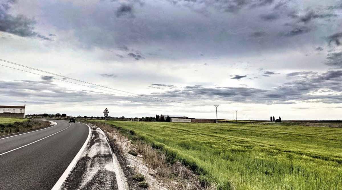 Una imagen del cielo en la provincia de Ciudad Real, el sabado (@aemetCLM, @sperezpujol