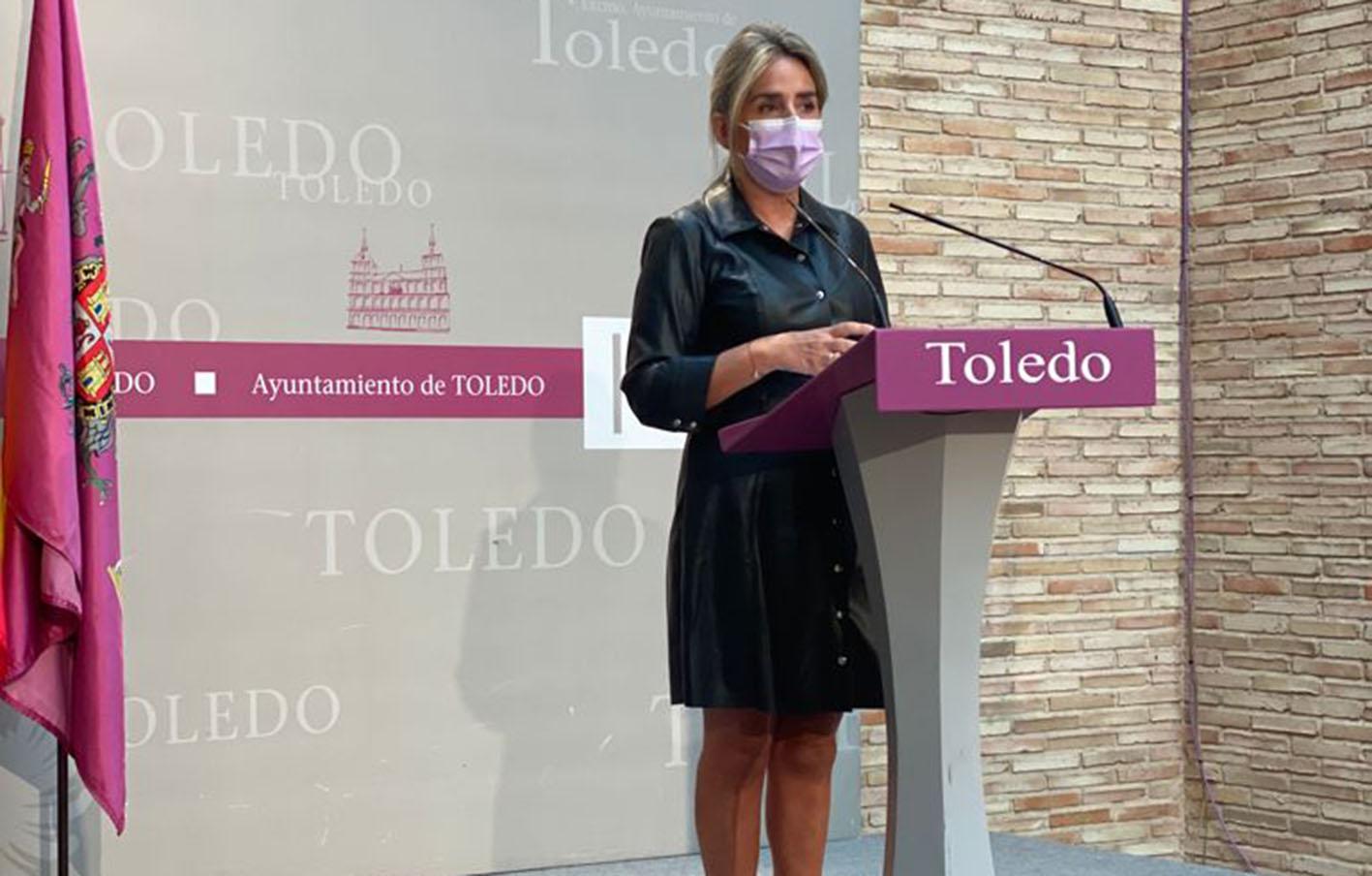 Milagros Tolón, alcaldesa de Toledo, ha detallado las nuevas obras que comenzarán durante lo que resta de 2021 y que supondrán un desembolso de 9,5 millones de euros.