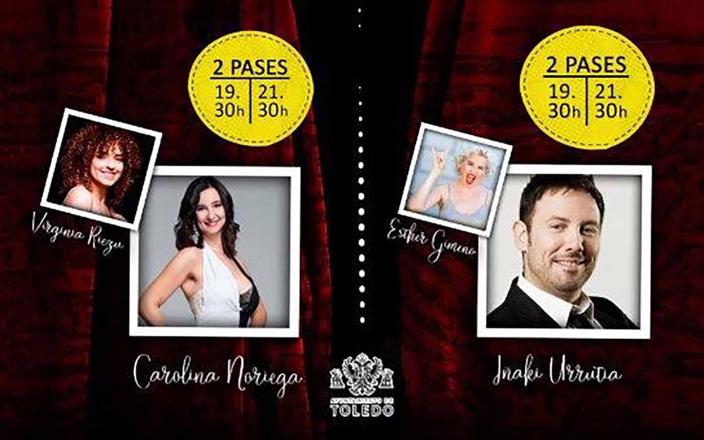 """Cartel de """"Toledo, con humor"""""""