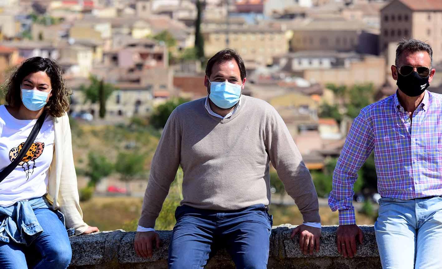 Paco Núñez, en Toledo en el Día del Valle. Foto: Rebeca Arango