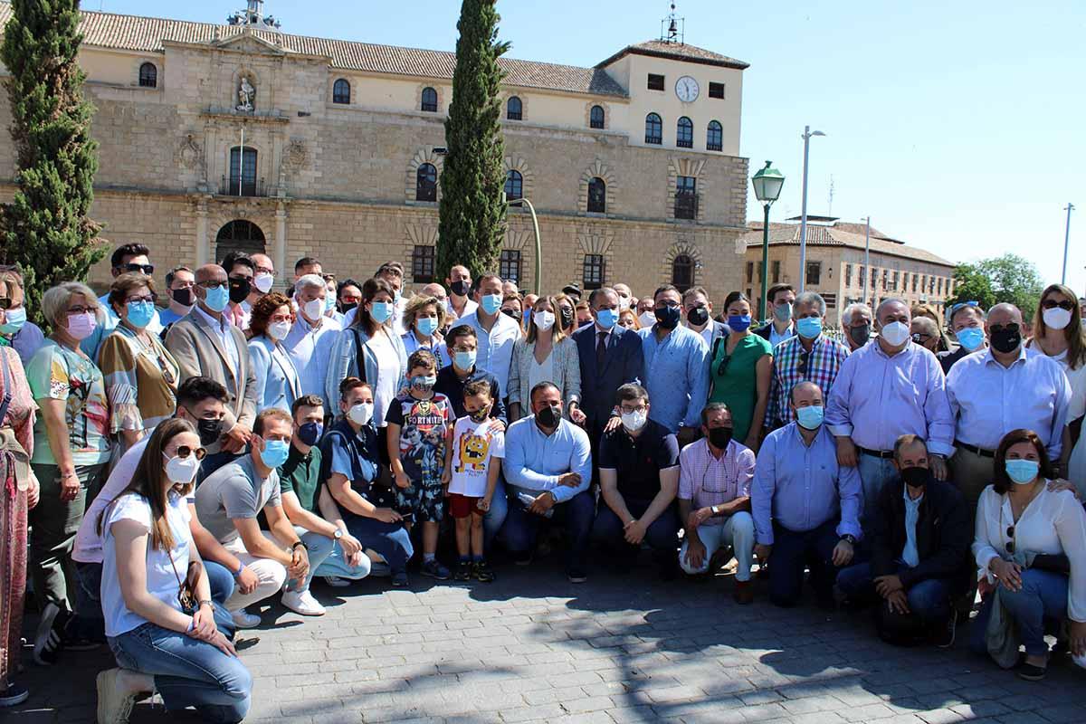 Carlos Velázquez y José Julián Gregorio han lanzado un mensaje de unidad en Toledo