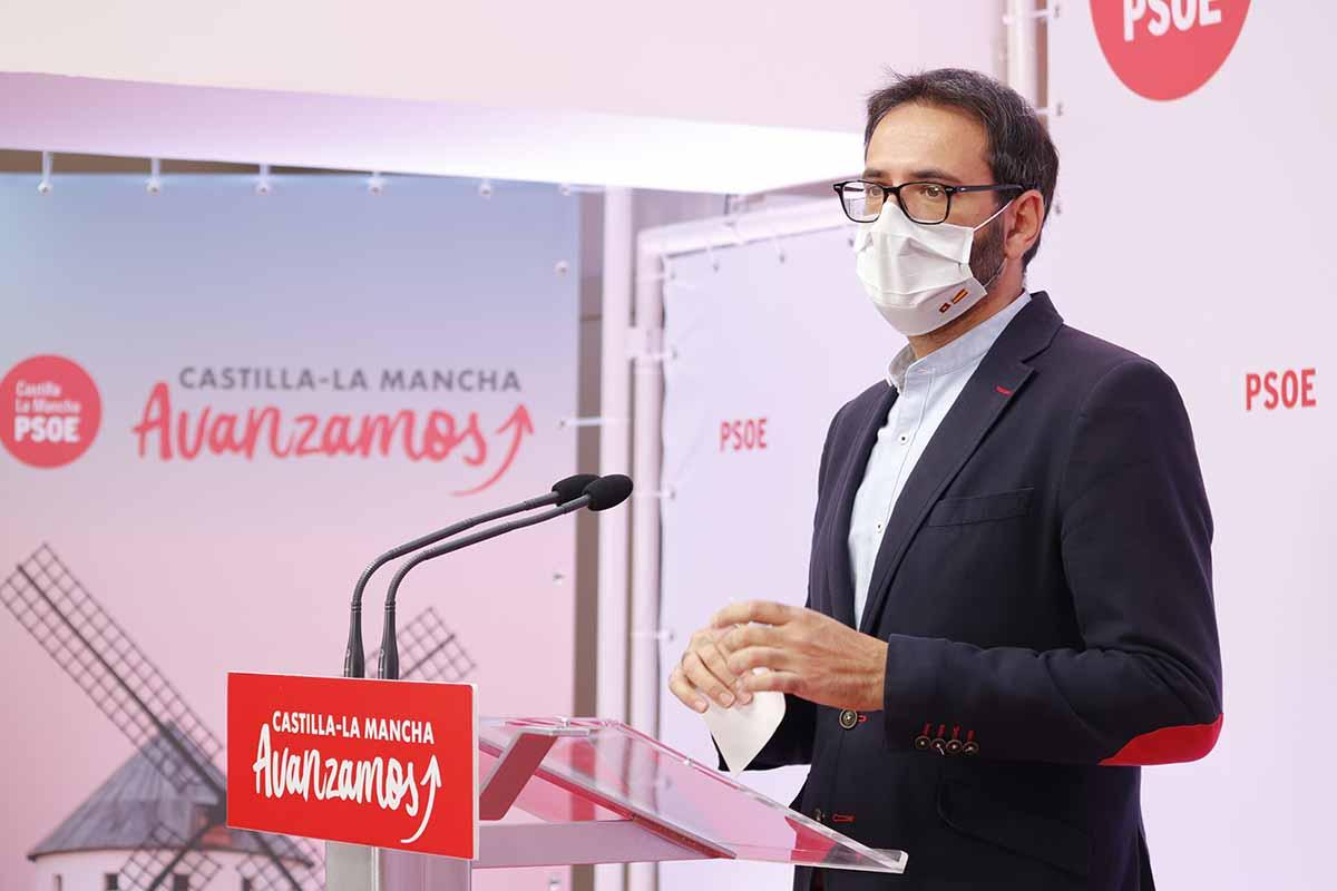 Sergio Gutiérrez ha afeado a Paco Núñez su postura en materia de impuestos