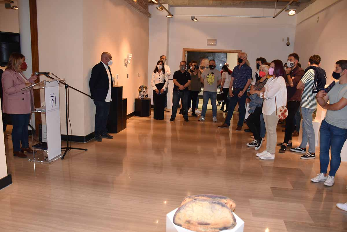 Un detalle de la X Bienal de Cerámica Ciudad de Talavera