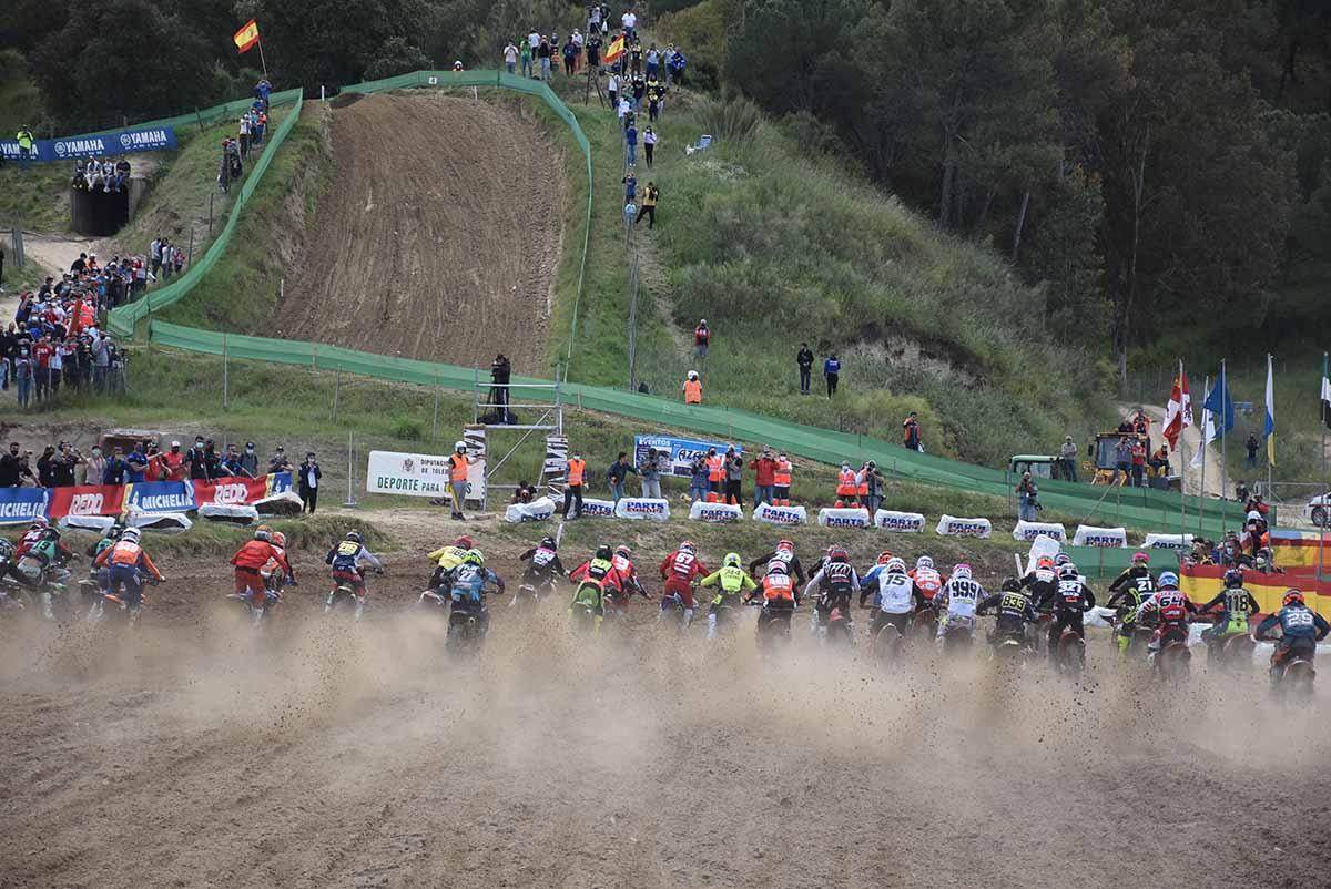Talavera volvió a acoger una prueba del Nacional de motocross