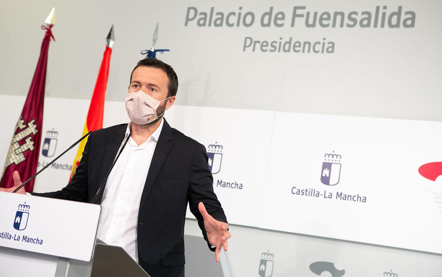 El consejero de Desarrollo Sostenible, José Luis Escudero.