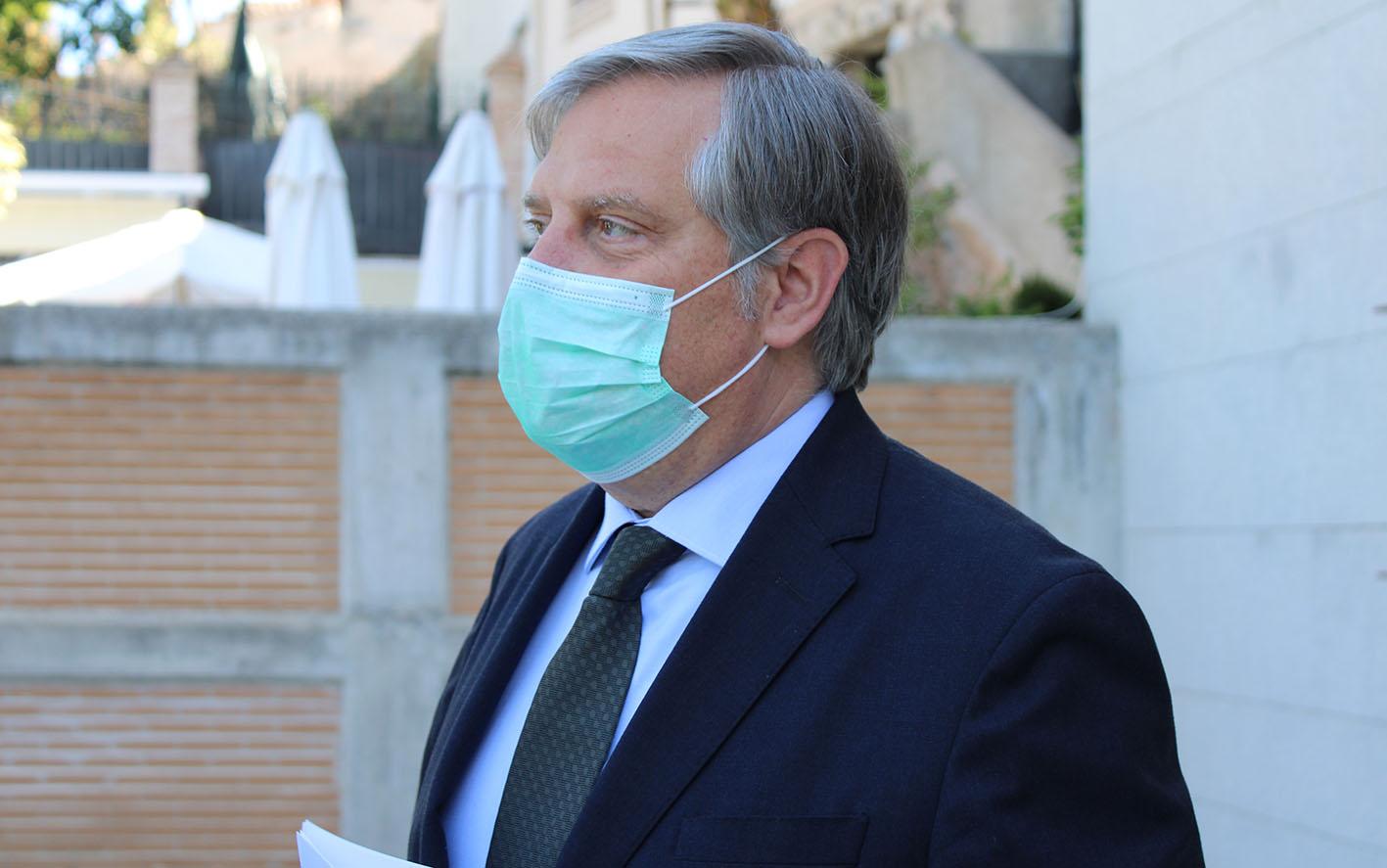 Paco Cañizares dice que el número de vacunados en CLM es del 11%