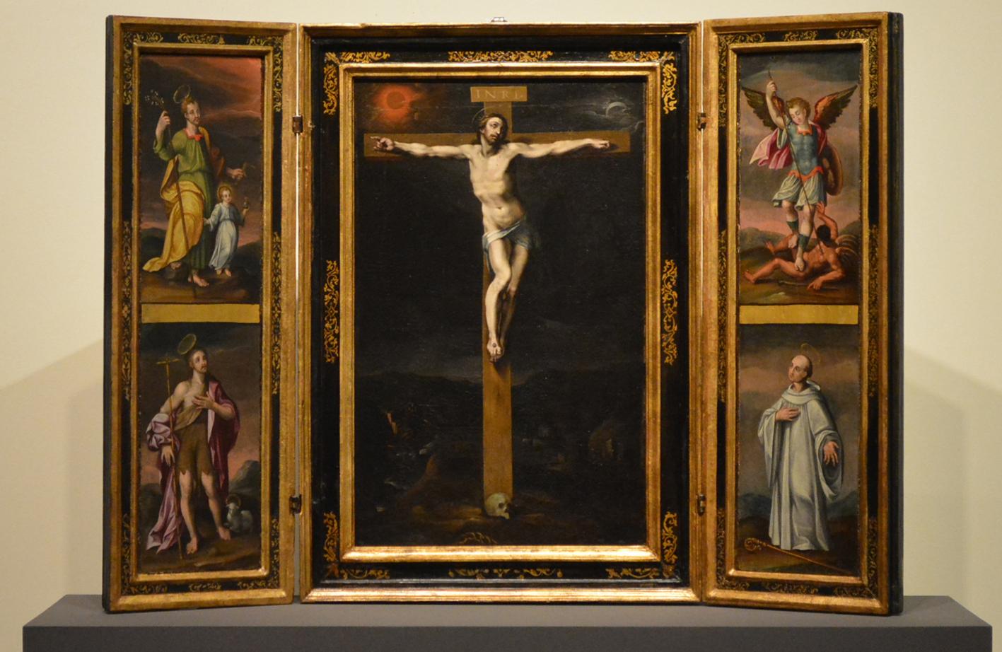 Tríptico de la Crucifixión, que ya se puede ver en el Museo del Greco, en Toledo.
