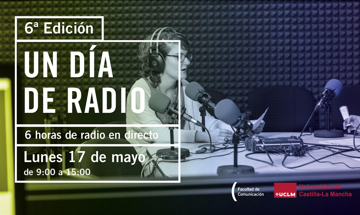 """""""Un día en la radio"""" se podrá escuchar el lunes 17 y comenzará a las 9 horas. Estará coordinado por el periodista y profesor Juan Carlos Santos."""