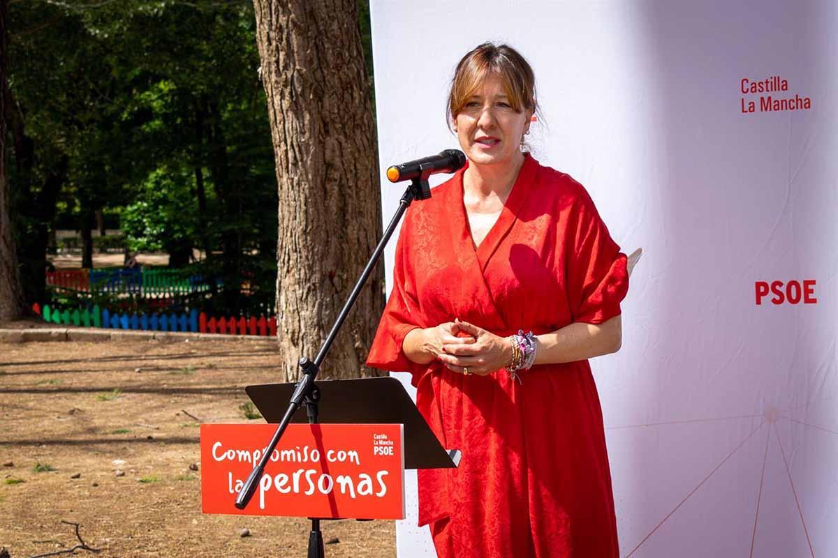 Blanca Fernández participó en un acto del PSOE en Guadalajara