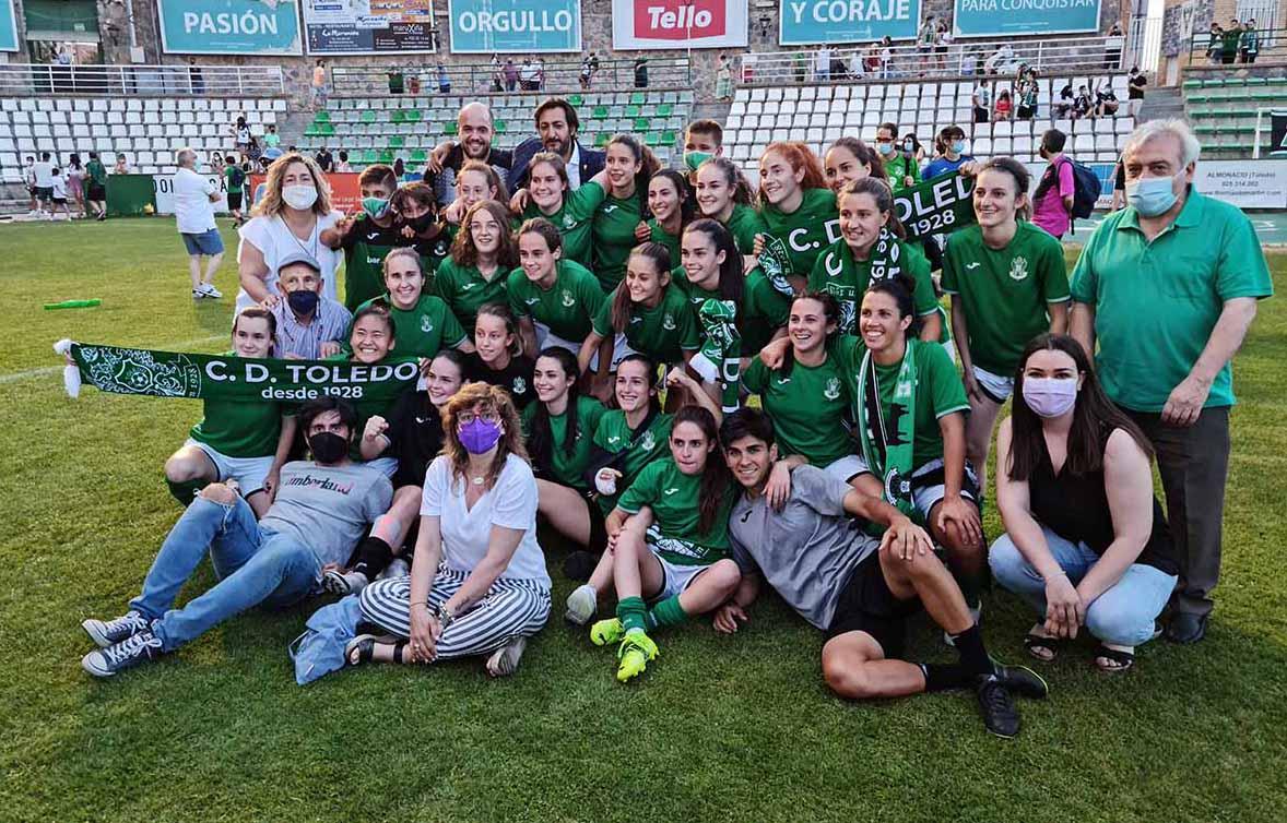 El Toledo femenino, a Primera Nacional