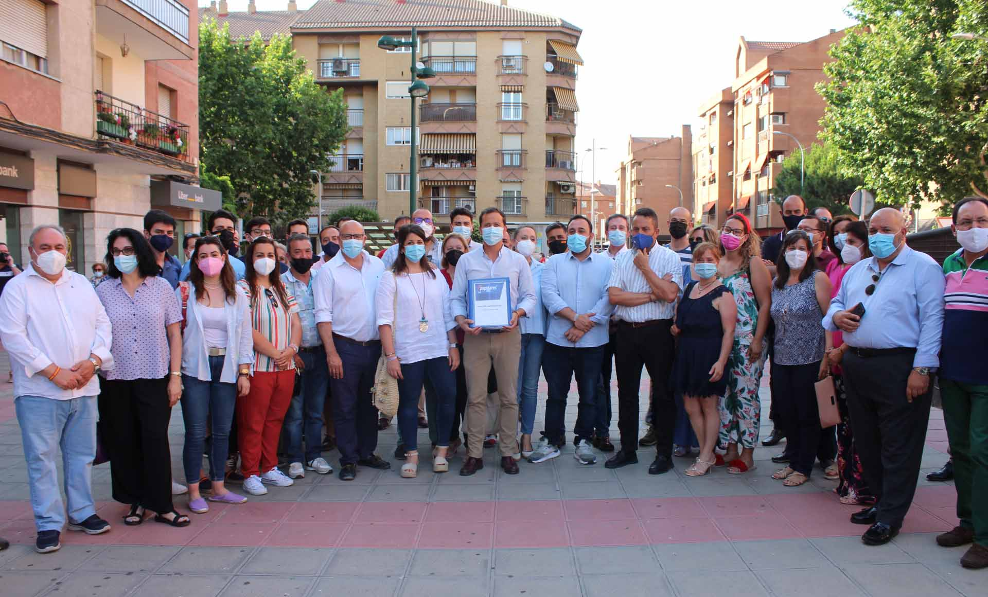 Carlos Velázquez presenta su candidatura al PP de Toledo