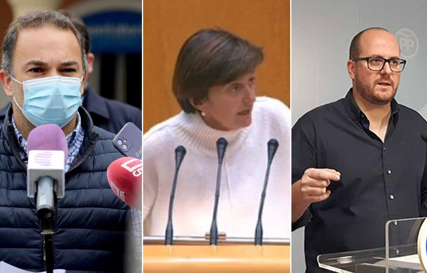 Candidatos a presidir al PP