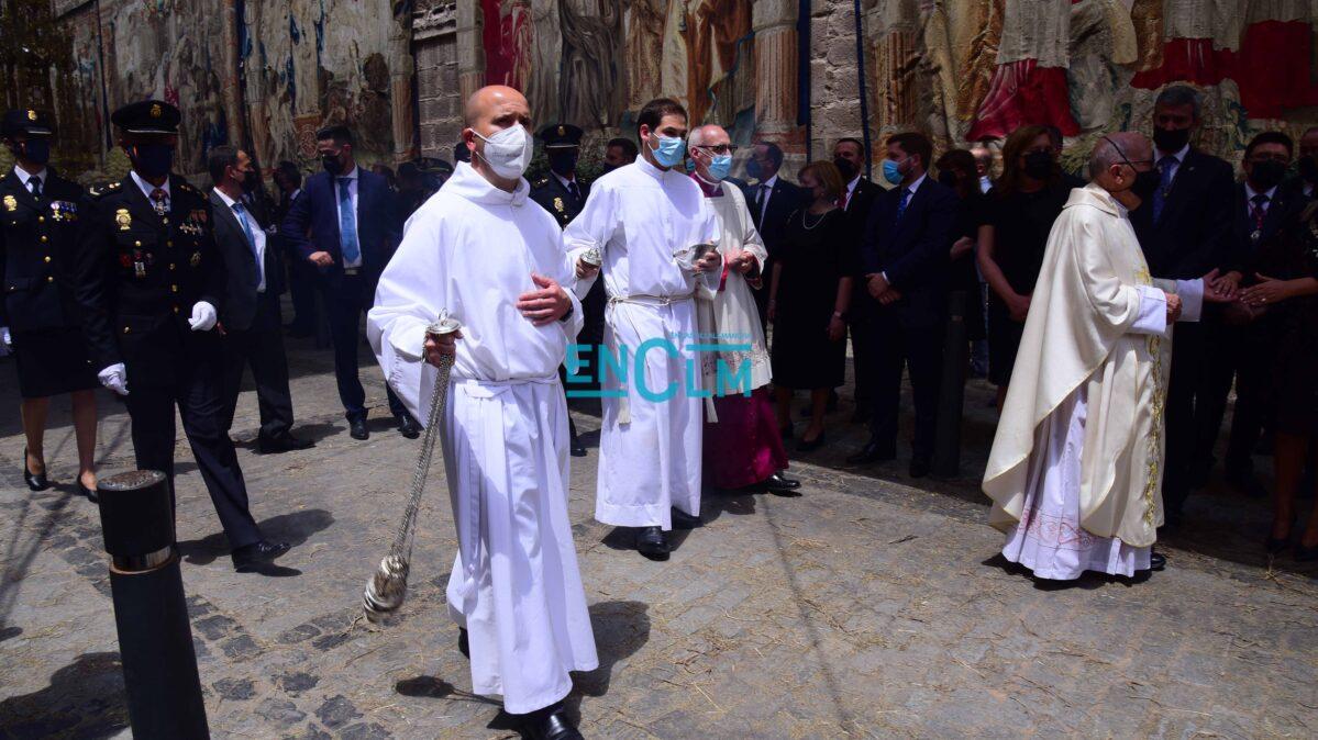 Pospuestas al domingo los espectáculos del Corpus de Toledo por la previsión de fuertes lluvias