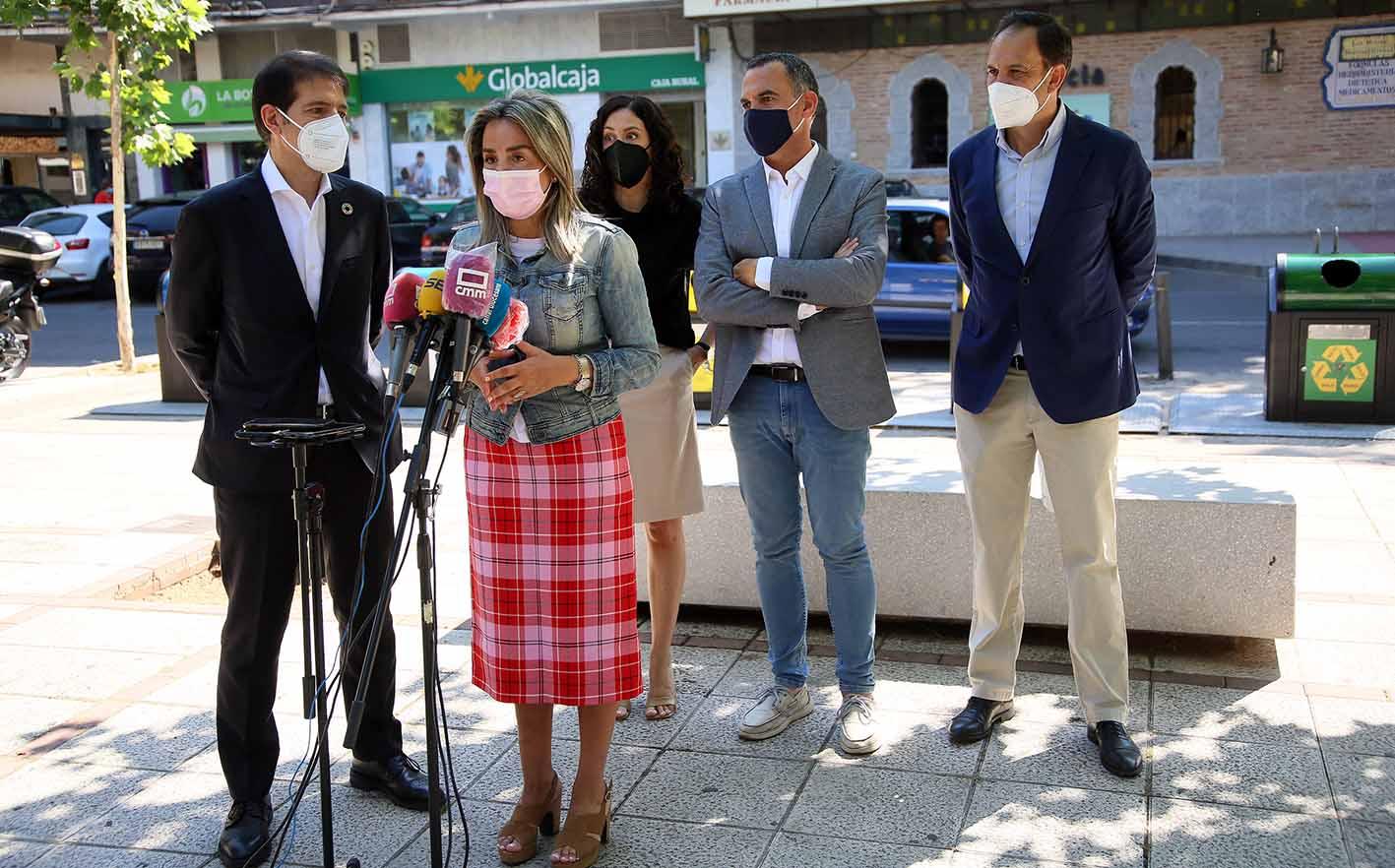 Presentación de sisteme de recompensa por reciclaje en Toledo