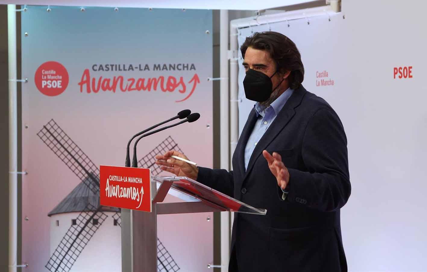 Rafa Esteban habla de la actitud del PP ante la imputación de Cospedal