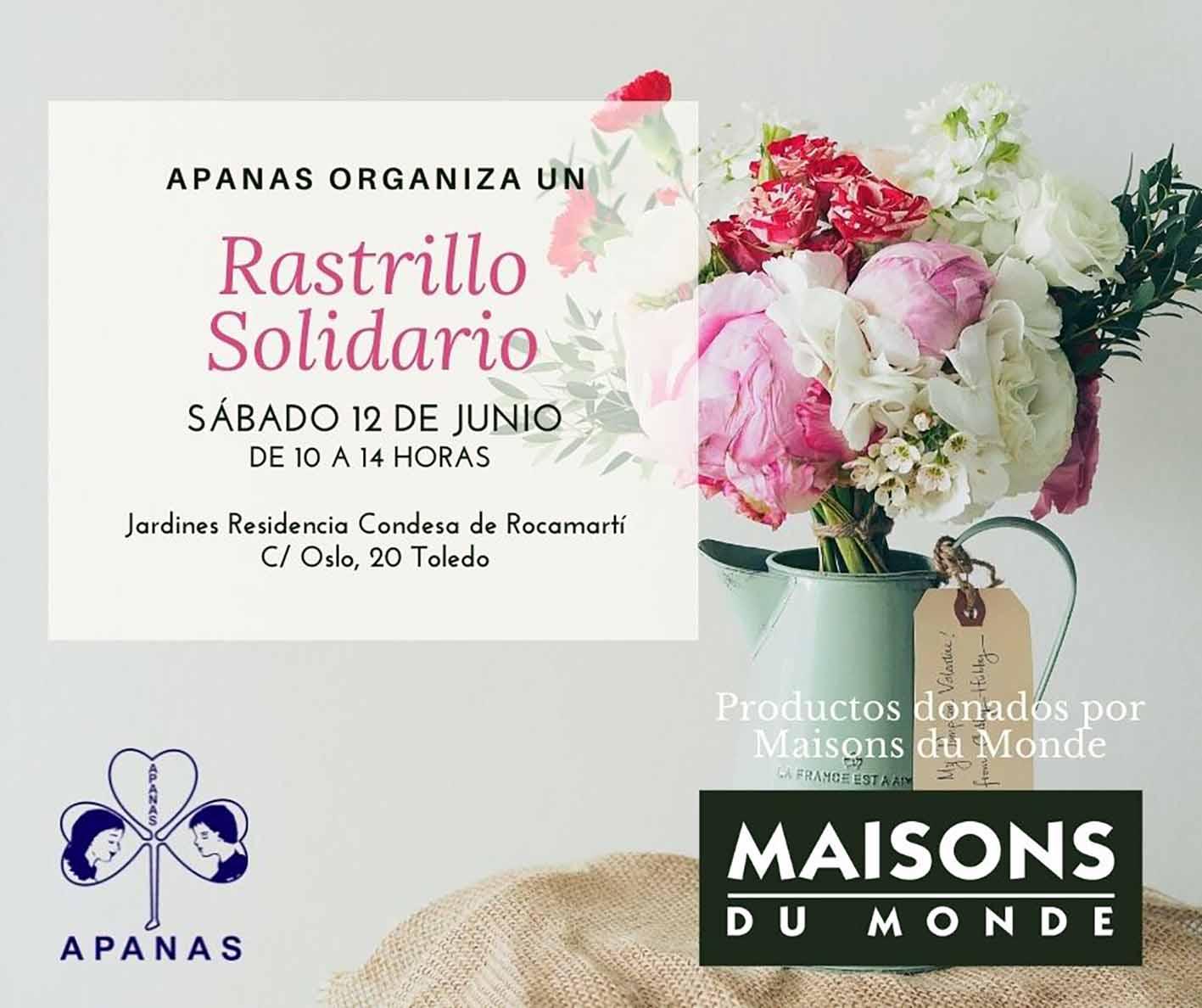 Cartel rastillo solidario Apanas
