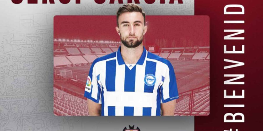 Sergi García, nuevo jugador del Albacete