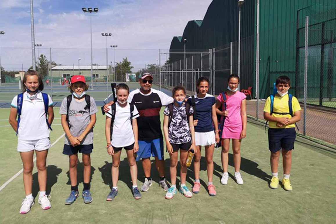 La cantera del Club de Tenis Toledo goza de una salud excelente